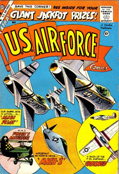 Cover for U.S. Air Force Comics (Charlton, 1958 series) #4