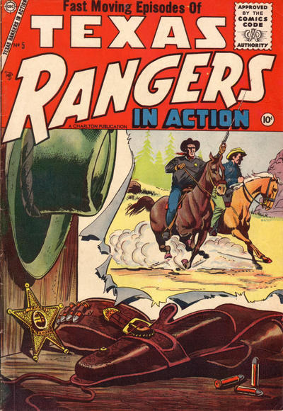 Cover for Texas Rangers in Action (Charlton, 1956 series) #5