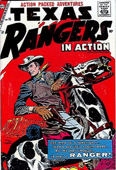 Cover for Texas Rangers in Action (Charlton, 1956 series) #10