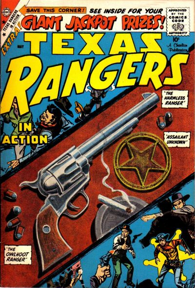 Cover for Texas Rangers in Action (Charlton, 1956 series) #16