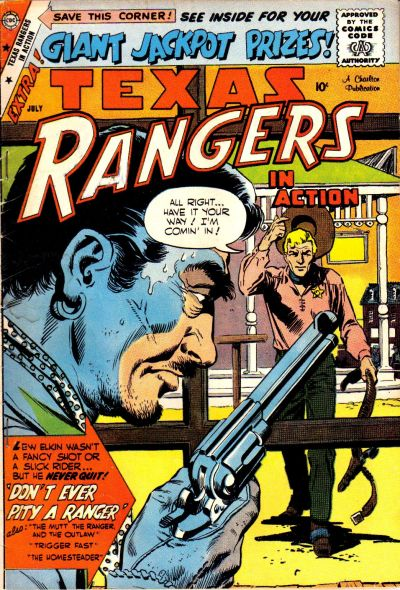 Cover for Texas Rangers in Action (Charlton, 1956 series) #17