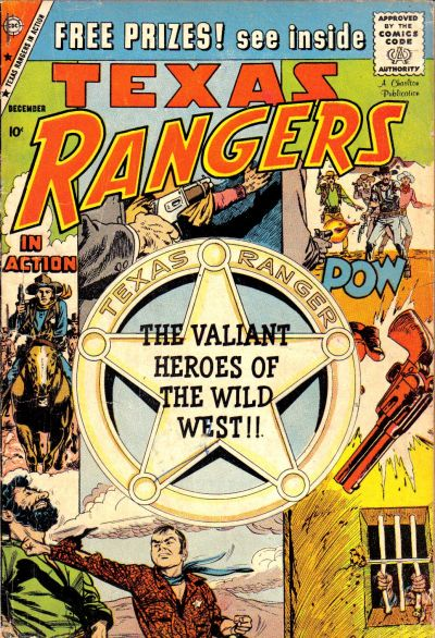 Cover for Texas Rangers in Action (Charlton, 1956 series) #19