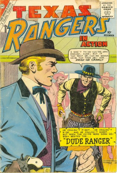 Cover for Texas Rangers in Action (Charlton, 1956 series) #25
