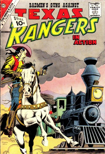 Cover for Texas Rangers in Action (Charlton, 1956 series) #31