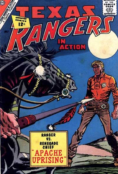 Cover for Texas Rangers in Action (Charlton, 1956 series) #34