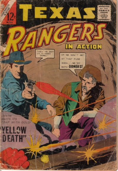 Cover for Texas Rangers in Action (Charlton, 1956 series) #44