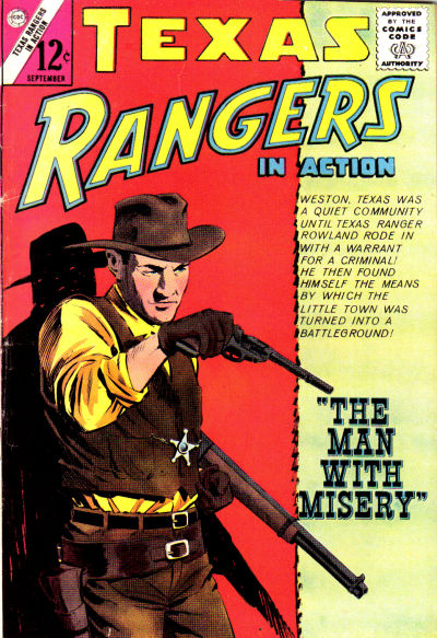 Cover for Texas Rangers in Action (Charlton, 1956 series) #46