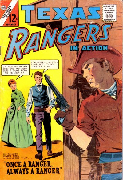 Cover for Texas Rangers in Action (Charlton, 1956 series) #47
