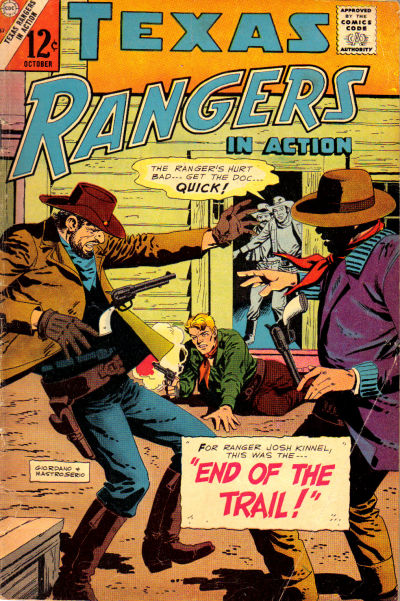 Cover for Texas Rangers in Action (Charlton, 1956 series) #57