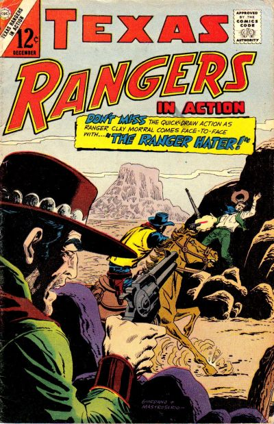 Cover for Texas Rangers in Action (Charlton, 1956 series) #58