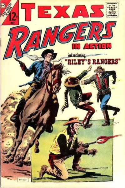 Cover for Texas Rangers in Action (Charlton, 1956 series) #60