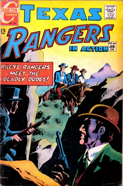 Cover for Texas Rangers in Action (Charlton, 1956 series) #64