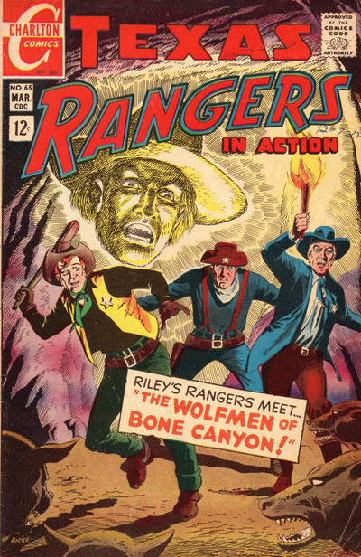 Cover for Texas Rangers in Action (Charlton, 1956 series) #65