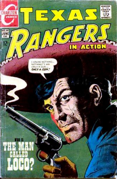 Cover for Texas Rangers in Action (Charlton, 1956 series) #66