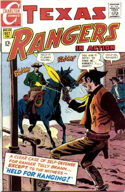 Cover for Texas Rangers in Action (Charlton, 1956 series) #68