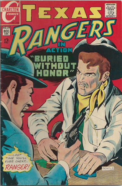 Cover for Texas Rangers in Action (Charlton, 1956 series) #69