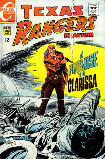 Cover for Texas Rangers in Action (Charlton, 1956 series) #72