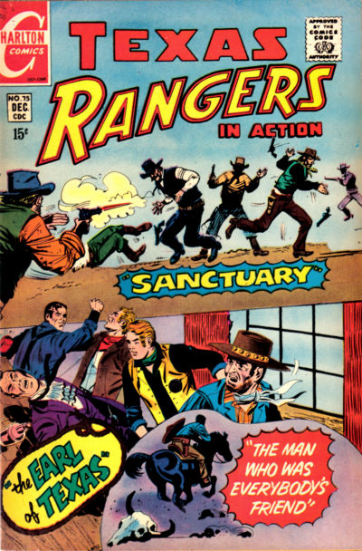 Cover for Texas Rangers in Action (Charlton, 1956 series) #75