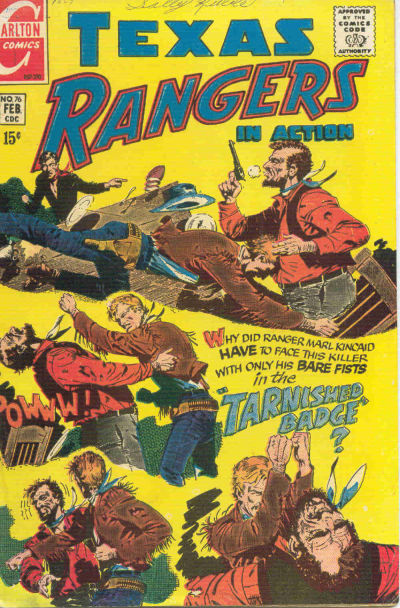 Cover for Texas Rangers in Action (Charlton, 1956 series) #76