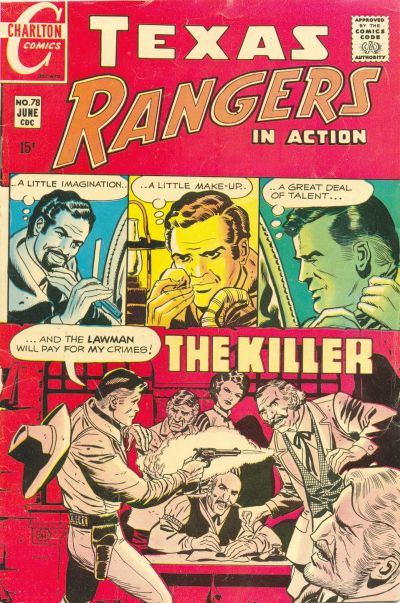 Cover for Texas Rangers in Action (Charlton, 1956 series) #78