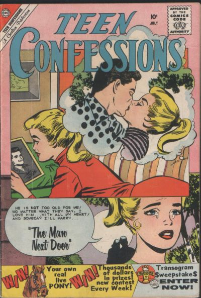 Cover for Teen Confessions (Charlton, 1959 series) #6