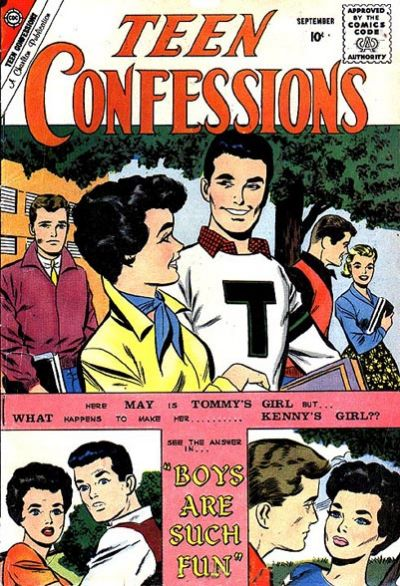Cover for Teen Confessions (Charlton, 1959 series) #7