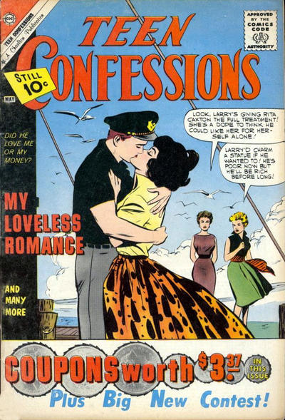 Cover for Teen Confessions (Charlton, 1959 series) #11