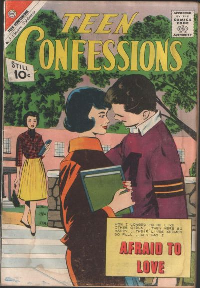 Cover for Teen Confessions (Charlton, 1959 series) #12