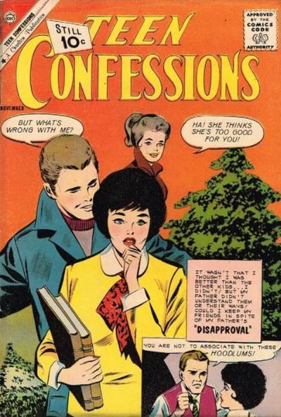 Cover for Teen Confessions (Charlton, 1959 series) #14