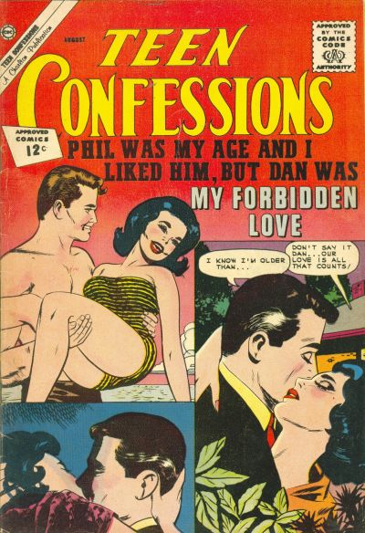 Cover for Teen Confessions (Charlton, 1959 series) #18