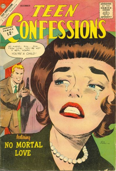 Cover for Teen Confessions (Charlton, 1959 series) #20