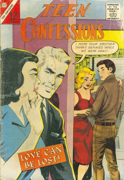 Cover for Teen Confessions (Charlton, 1959 series) #21