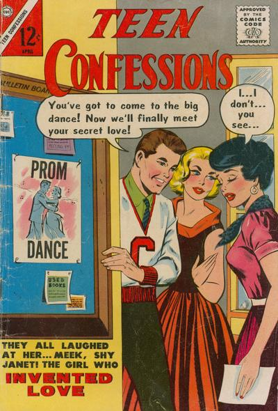 Cover for Teen Confessions (Charlton, 1959 series) #22