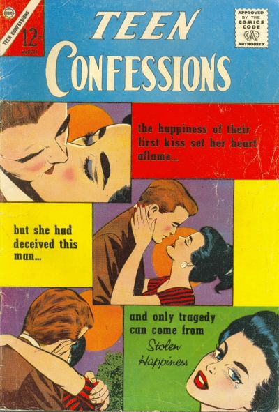 Cover for Teen Confessions (Charlton, 1959 series) #24