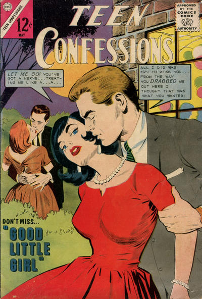Cover for Teen Confessions (Charlton, 1959 series) #28