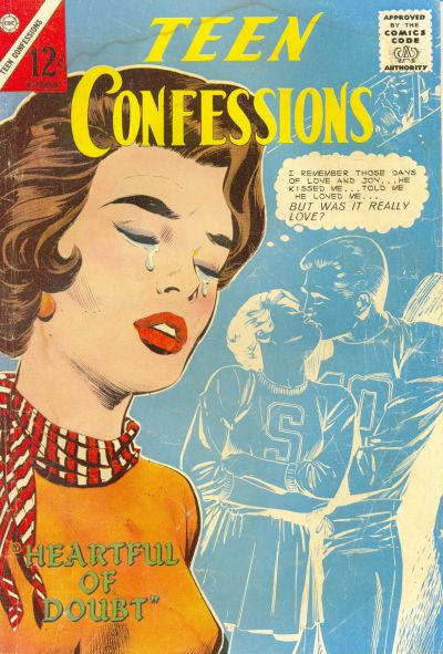 Cover for Teen Confessions (Charlton, 1959 series) #30
