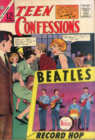 Cover for Teen Confessions (Charlton, 1959 series) #31