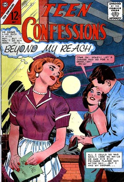Cover for Teen Confessions (Charlton, 1959 series) #33