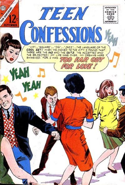 Cover for Teen Confessions (Charlton, 1959 series) #35
