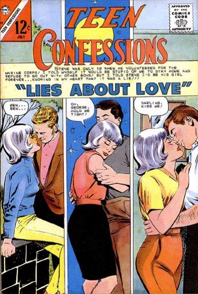 Cover for Teen Confessions (Charlton, 1959 series) #39