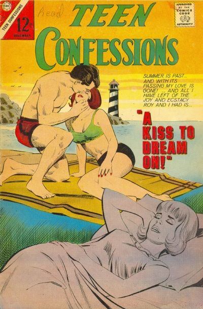 Cover for Teen Confessions (Charlton, 1959 series) #41