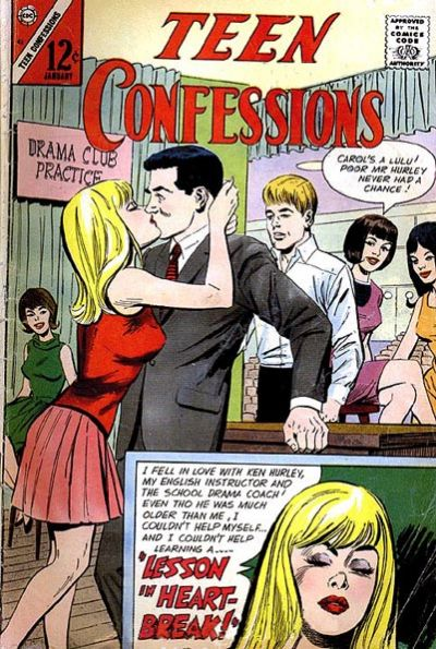 Cover for Teen Confessions (Charlton, 1959 series) #42