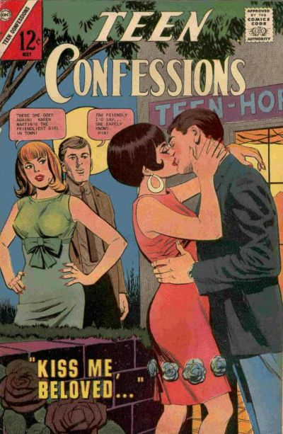 Cover for Teen Confessions (Charlton, 1959 series) #44