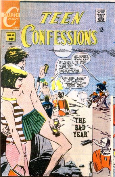 Cover for Teen Confessions (Charlton, 1959 series) #47