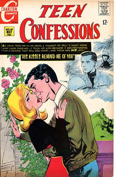 Cover for Teen Confessions (Charlton, 1959 series) #49