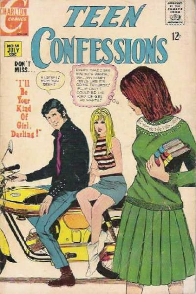 Cover for Teen Confessions (Charlton, 1959 series) #50
