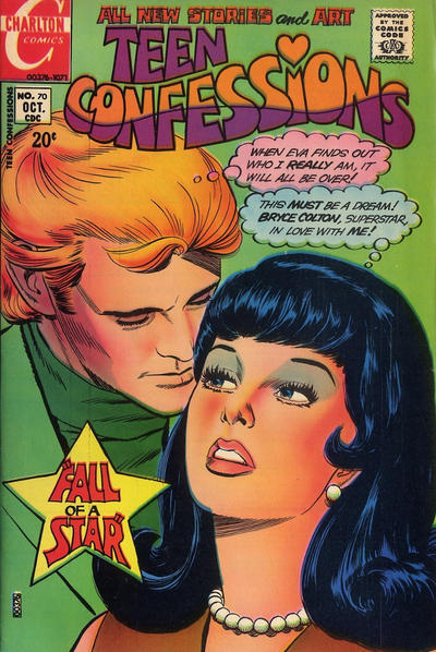 Cover for Teen Confessions (Charlton, 1959 series) #70