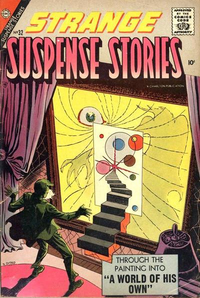 Cover for Strange Suspense Stories (Charlton, 1955 series) #32