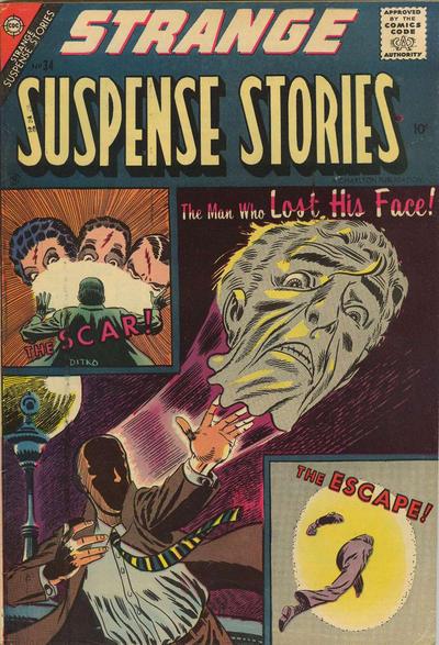 Cover for Strange Suspense Stories (Charlton, 1955 series) #34