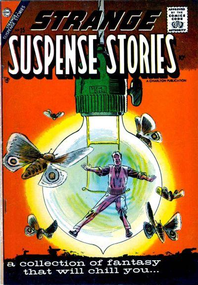 Cover for Strange Suspense Stories (Charlton, 1955 series) #35